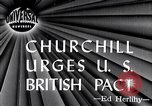 Image of Winston Churchill Fulton Missouri USA, 1946, second 2 stock footage video 65675033583