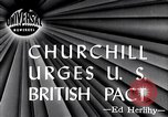 Image of Winston Churchill Fulton Missouri USA, 1946, second 3 stock footage video 65675033583