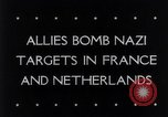 Image of Allied bomber planes Europe, 1944, second 4 stock footage video 65675033601