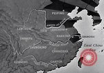Image of Japanese air raid Chungking China, 1944, second 5 stock footage video 65675033615