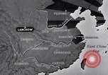 Image of Japanese air raid Chungking China, 1944, second 6 stock footage video 65675033615