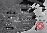 Image of Japanese air raid Chungking China, 1944, second 8 stock footage video 65675033615