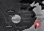 Image of Japanese air raid Chungking China, 1944, second 12 stock footage video 65675033615