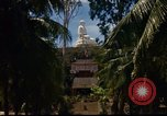 Image of Buddha temple Nha Trang Vietnam, 1967, second 5 stock footage video 65675033651