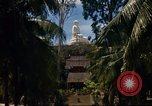 Image of Buddha temple Nha Trang Vietnam, 1967, second 6 stock footage video 65675033651