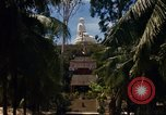 Image of Buddha temple Nha Trang Vietnam, 1967, second 11 stock footage video 65675033651
