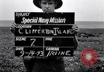 Image of special navy mission Clipperton Island, 1943, second 4 stock footage video 65675033676