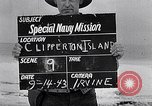 Image of USS Concord CL-10 Clipperton Island, 1943, second 1 stock footage video 65675033677