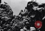 Image of rock formation and birds Clipperton Island, 1943, second 6 stock footage video 65675033680