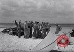 Image of men on beach Clipperton Island, 1943, second 12 stock footage video 65675033681