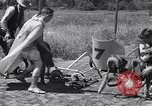 Image of doggy chariot race Baker Oregon USA, 1938, second 6 stock footage video 65675033695
