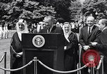 Image of King Faisal of Saudi Arabia Washington DC USA, 1966, second 8 stock footage video 65675033728
