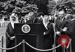 Image of King Faisal of Saudi Arabia Washington DC USA, 1966, second 10 stock footage video 65675033728