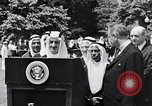 Image of King Faisal of Saudi Arabia Washington DC USA, 1966, second 4 stock footage video 65675033729