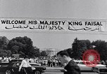 Image of King Faisal of Saudi Arabia Washington DC USA, 1966, second 2 stock footage video 65675033730