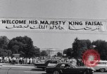 Image of King Faisal of Saudi Arabia Washington DC USA, 1966, second 5 stock footage video 65675033730