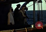 Image of King Ibn Saud Suez Canal Egypt, 1945, second 7 stock footage video 65675033748