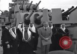 Image of Saudi Royal Party meets Franklin Roosevelt Mediterranean Sea, 1945, second 2 stock footage video 65675033755