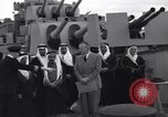 Image of Saudi Royal Party meets Franklin Roosevelt Mediterranean Sea, 1945, second 4 stock footage video 65675033755