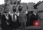 Image of Saudi Royal Party meets Franklin Roosevelt Mediterranean Sea, 1945, second 8 stock footage video 65675033755