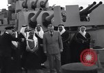 Image of Saudi Royal Party meets Franklin Roosevelt Mediterranean Sea, 1945, second 9 stock footage video 65675033755