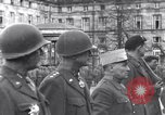 Image of General Charles De Gaulle Saverne France, 1945, second 3 stock footage video 65675033760