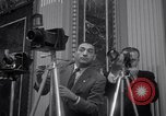 Image of Preparation for press conference with President United States USA, 1955, second 4 stock footage video 65675033781