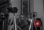 Image of Preparation for press conference with President United States USA, 1955, second 5 stock footage video 65675033781
