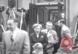 Image of Preparation for press conference with President United States USA, 1955, second 8 stock footage video 65675033781