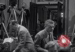 Image of Preparation for press conference with President United States USA, 1955, second 11 stock footage video 65675033781