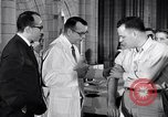 Image of polio vaccination United States USA, 1955, second 5 stock footage video 65675033788