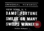 Image of lottery winners New York United States USA, 1938, second 2 stock footage video 65675033794