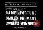 Image of lottery winners New York United States USA, 1938, second 3 stock footage video 65675033794