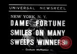 Image of lottery winners New York United States USA, 1938, second 4 stock footage video 65675033794