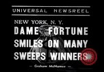 Image of lottery winners New York United States USA, 1938, second 5 stock footage video 65675033794