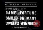 Image of lottery winners New York United States USA, 1938, second 6 stock footage video 65675033794