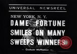 Image of lottery winners New York United States USA, 1938, second 7 stock footage video 65675033794