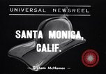 Image of mountain fire Santa Monica California USA, 1938, second 1 stock footage video 65675033798