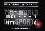 Image of Duke versus Pittsburgh college football Durham North Carolina USA, 1938, second 7 stock footage video 65675033799