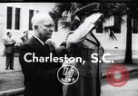 Image of Dwight D Eisenhower Charleston South Carolina USA, 1955, second 6 stock footage video 65675033802