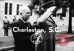 Image of Dwight D Eisenhower Charleston South Carolina USA, 1955, second 7 stock footage video 65675033802