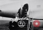 Image of Chancellor Julius Raab Austria, 1955, second 8 stock footage video 65675033808