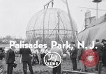Image of ride motorcycle Palisades Park New Jersey USA, 1955, second 1 stock footage video 65675033812