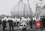 Image of ride motorcycle Palisades Park New Jersey USA, 1955, second 2 stock footage video 65675033812