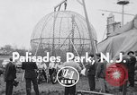 Image of ride motorcycle Palisades Park New Jersey USA, 1955, second 3 stock footage video 65675033812