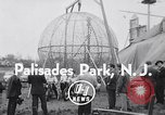 Image of ride motorcycle Palisades Park New Jersey USA, 1955, second 4 stock footage video 65675033812