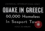 Image of earthquake Volos Greece, 1955, second 1 stock footage video 65675033814