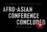 Image of Afro Asian Conference Indonesia, 1955, second 2 stock footage video 65675033815