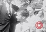 Image of Jonas Salk Washington DC USA, 1955, second 10 stock footage video 65675033816