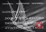 Image of James Doolittle Cleveland Ohio USA, 1932, second 2 stock footage video 65675033884